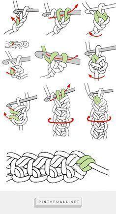 Ponto para cordão crochê Mais,  #cordão #Crochê #Mais #para #Ponto #irishlacecrochetpattern