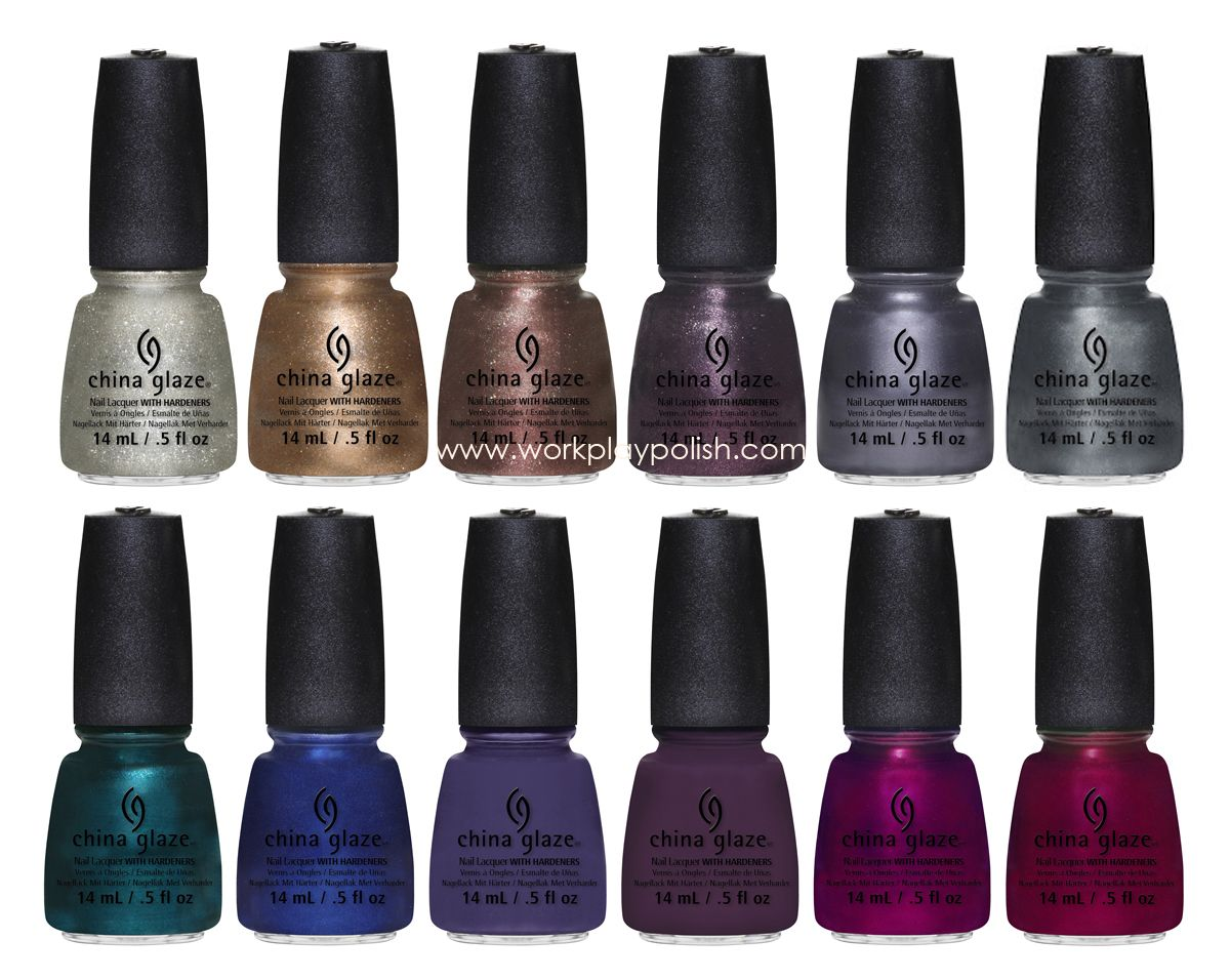 China Glaze Autumn Nights collection 2013 | Hair, Makeup ...