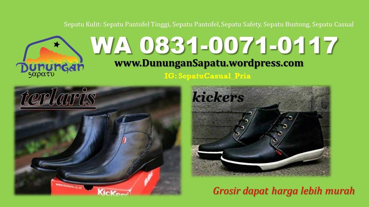 Jual Sepatu Pantofel Tinggi Kulit Harga Sepatu Casual Kulit