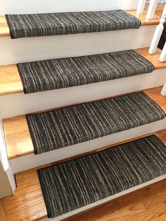 Best Linea Patterned True Bullnose™ Carpet Stair Tread For 400 x 300