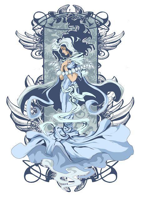 maria makiling (art by ian sta maria) | Philippine supernatural