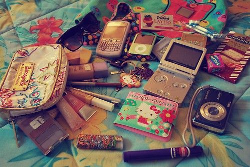 All this are must haves for a purse