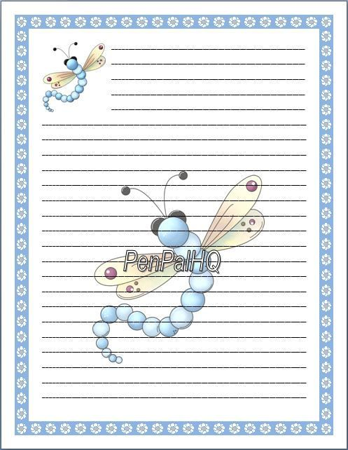 Lined Paper Pdf Freebieprimary Writing Paper Vertical Design With