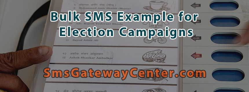 Bulk SMS Election Campaigns Election SMS Templates Sample Bulk - campaign speech example template