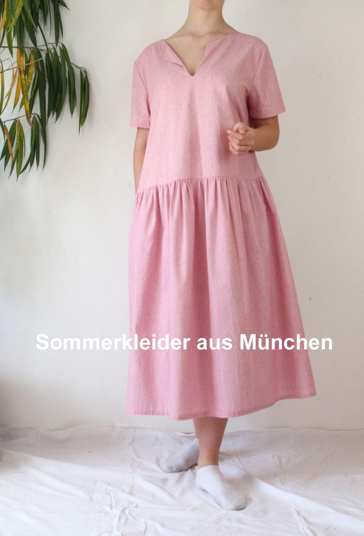 leichtes Midikleid in 4  Modestil, Mode, Schöne kleider