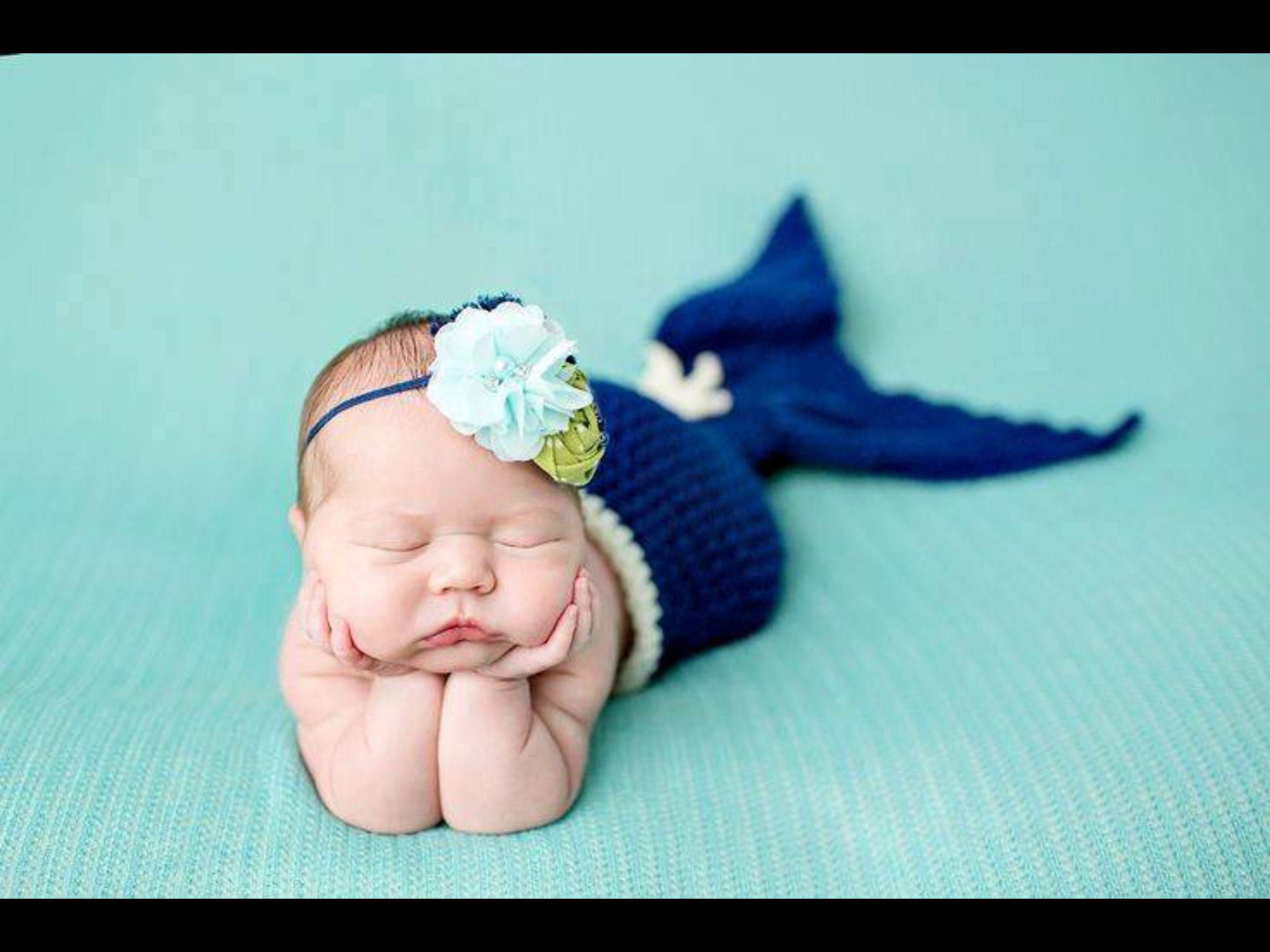 Baby havfrue