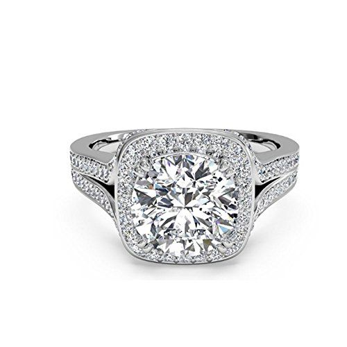 Womens Engagement Rings Color