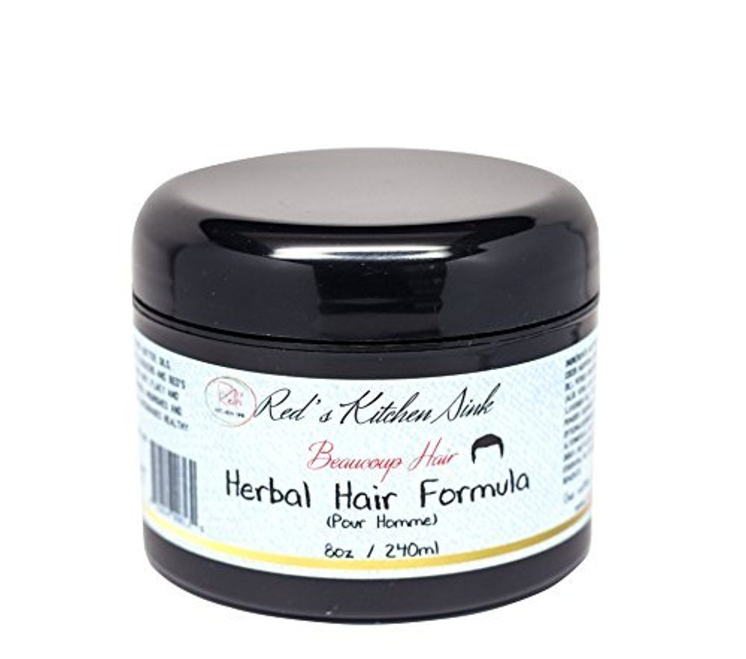 Beaucoup Hair Herbal Hair Formula For Men Jumbo By Red S Kitchen Sink Awesome Products Selected By Anna Churchill Herbal Hair Men Moisturizer Herbalism