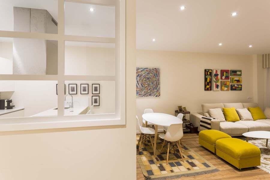 Una vivienda con decoración actual y cuidada #hogarhabitissimo ...