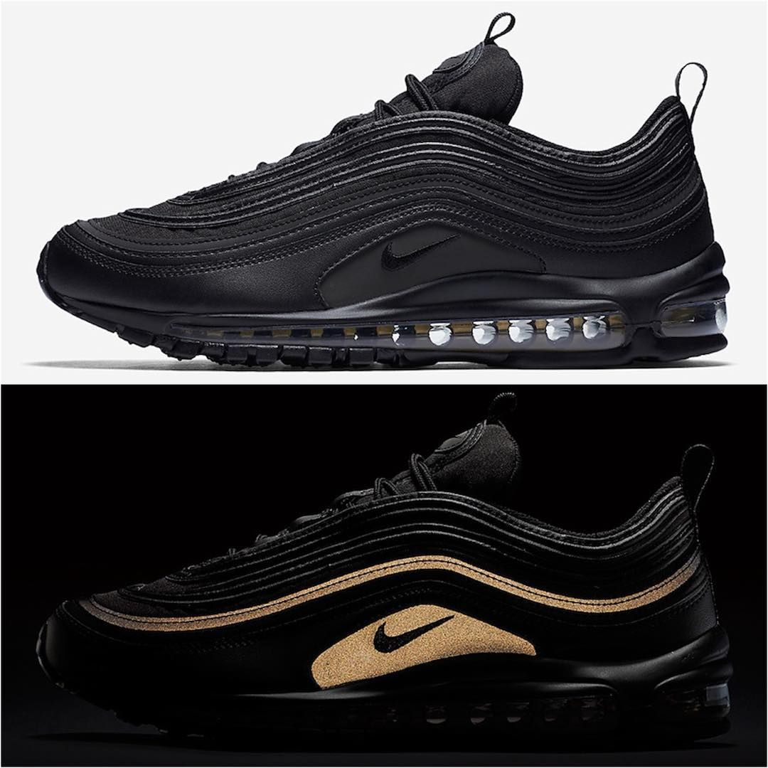Nike Air Max 97 Premium Triple Black Shoes For Days Air Max 97