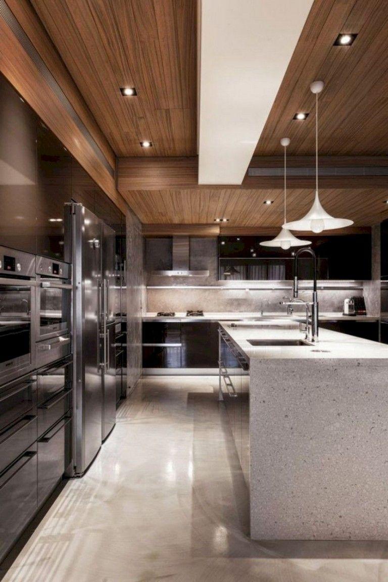 57 Amazing Contemporary Kitchen Cabinets Remodel Ideas Kitchen Interior Design Modern Contemporary Modern Kitchen Modern Kitchen Interiors