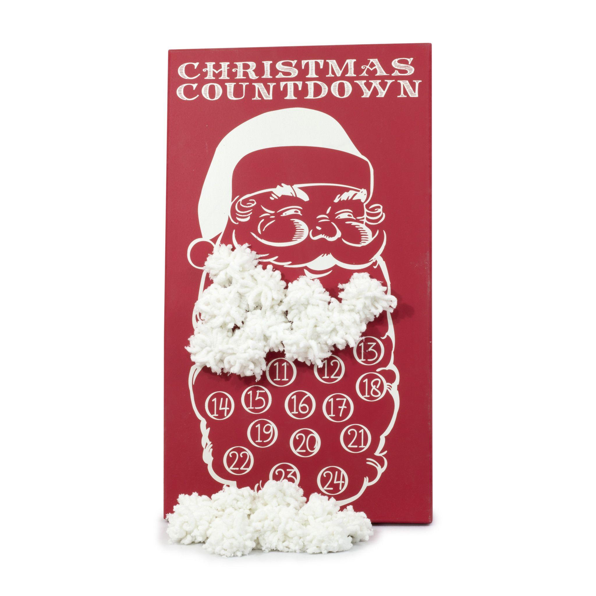 Image result for COUNTDOWN TO CHRISTMAS CALENDAR FRAMED