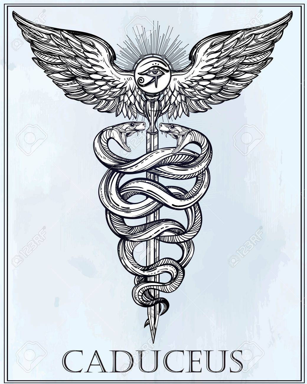Caduceus (Staff) | JTI\u0027s Contract (The Cube) | Pinterest | Tattoo