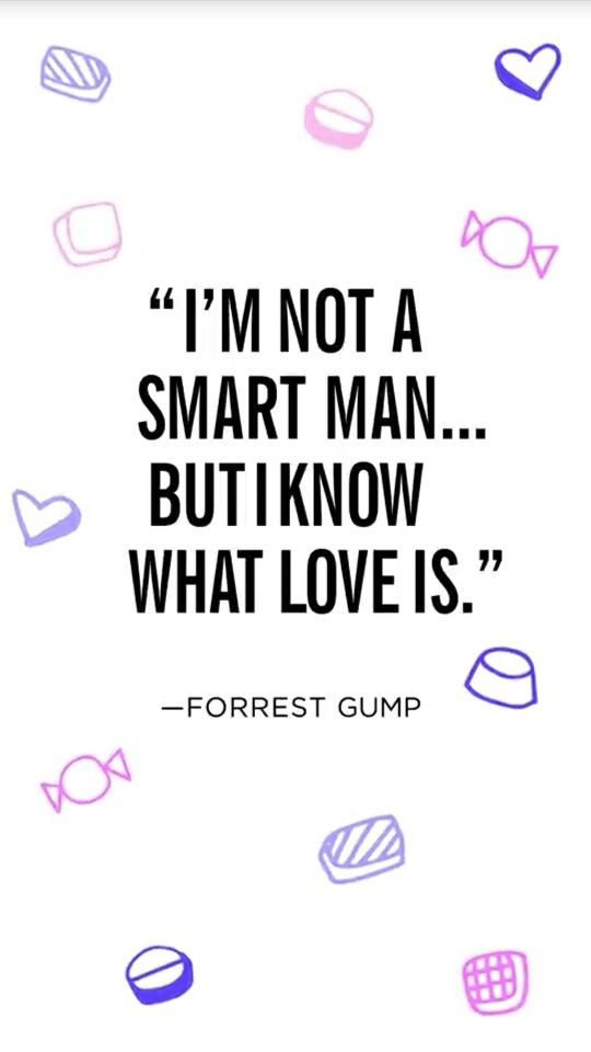 Forrest Gump Quote IPhone Wallpaper
