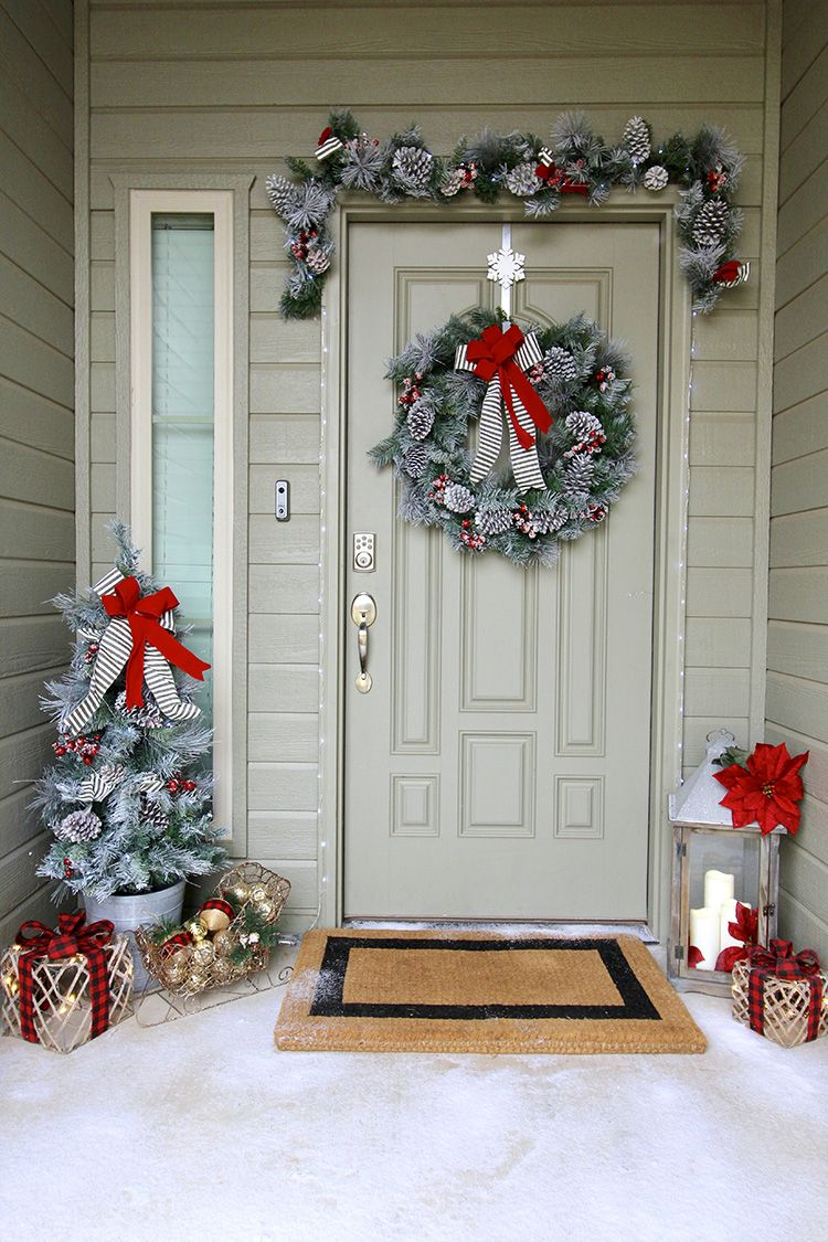 3 Steps To Outdoor Christmas Decorating Decorating With Christmas Lights Home Depot Christmas Decorations Xmas Decorations Outdoor