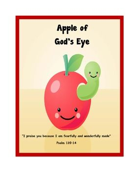i am the apple of god 39 s eye free printable lesson short lesson with bible memory cards. Black Bedroom Furniture Sets. Home Design Ideas