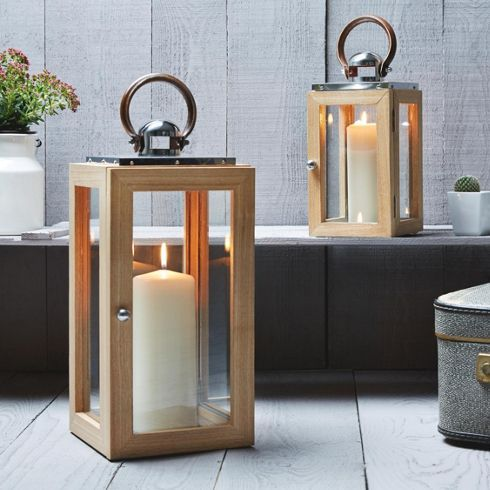 Laterne Luise Höhe: 32,5 cm - Kerzen - Produkte
