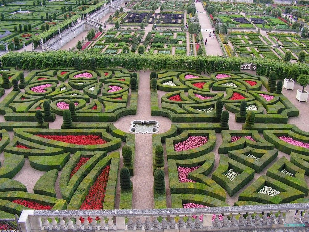 les jardins du chateau de villandry en ete jardin la fran aise pinterest. Black Bedroom Furniture Sets. Home Design Ideas