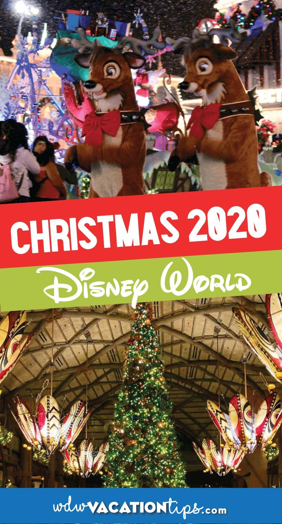 What Christmas Will Look Like At Disney World In 2020 In 2020 Disney World Christmas Disney World Planning Disney Vacation Planning