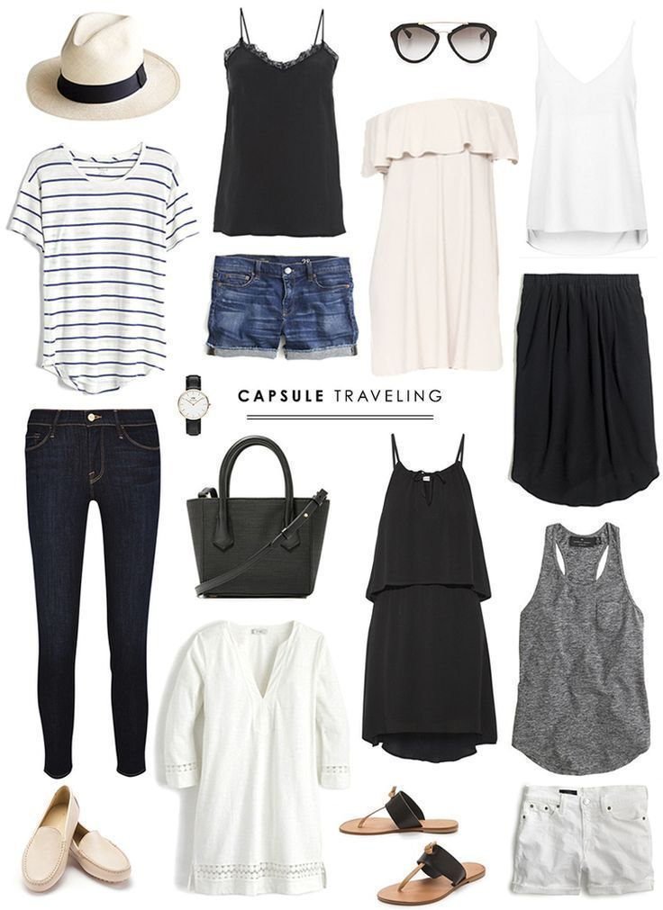 Idée et inspiration look d'été tendance 2017 Image Description These outfits always look so sharp to me. I feel like I can't pull an outfit together with pieces so simple, but I love the look!!!