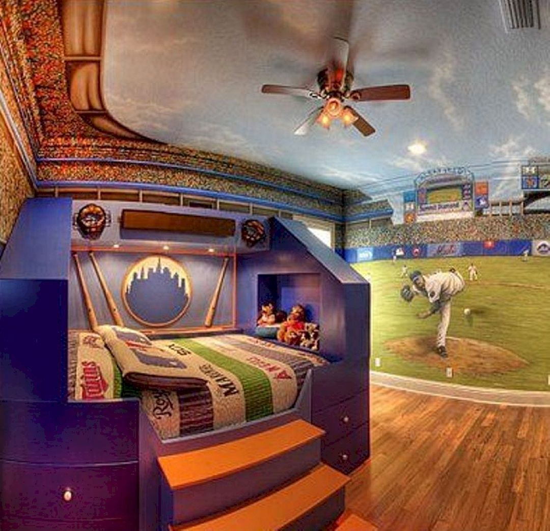 55 Marvelous Children S Bedroom Design Inspiration With Sports