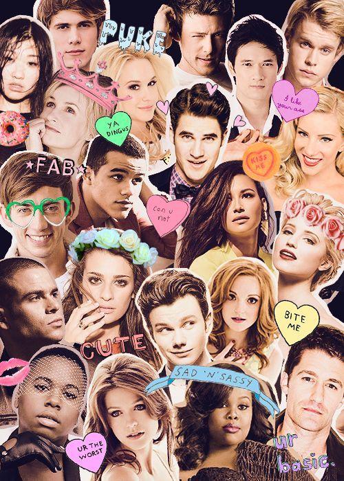 Women actress models celebrity Glee Dianna Agron smiling wallpaper