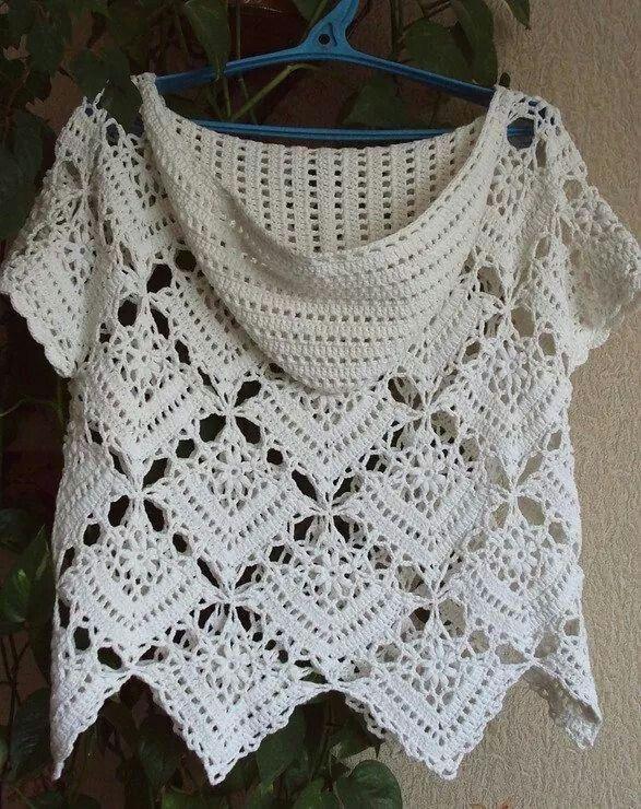 Crochet | Häkelkleidung | Pinterest | Blusas, Tejido y Ganchillo