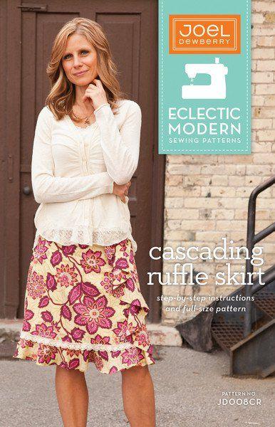 Cascading Ruffle Skirt