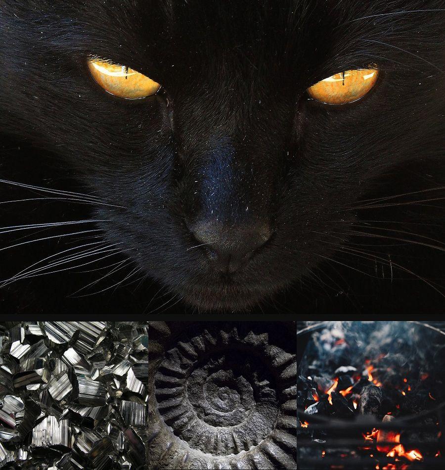 Die Kosmische Farbe Schwarz Schwarz Farbe Kosmisch Farben