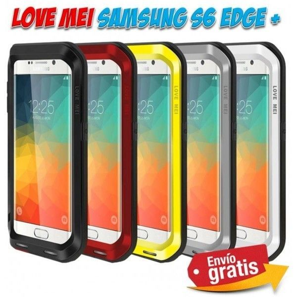ca85cda72ec Fundas protectoras y carcasas para moviles Smartphone. Funda Samsung Galaxy  S6 Edge Plus aluminio marca
