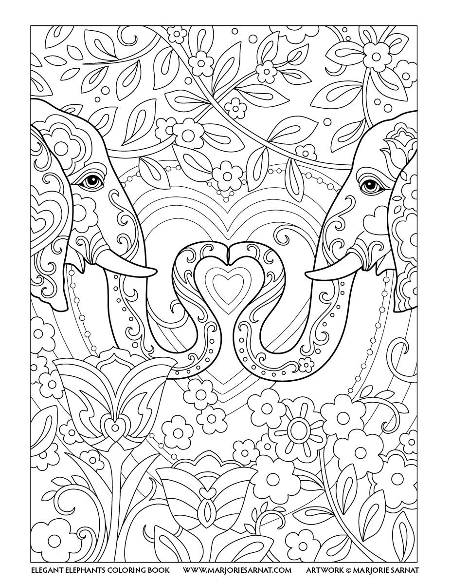 For Color Lovers: Happy Valentine\'s Day   Elephants Never Forget ...