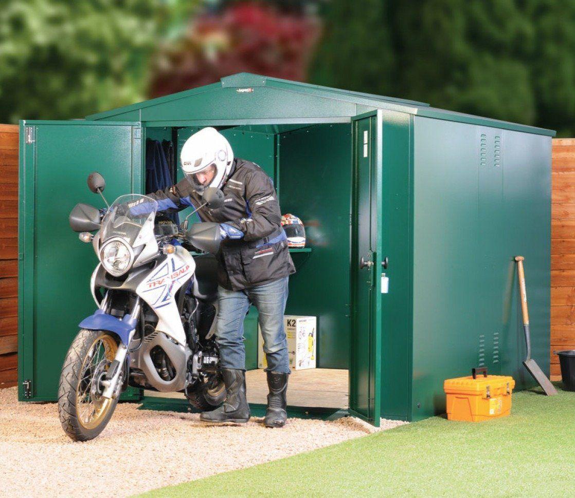Asgard 8 x 7 ft Gladiator Motorbike Garage Motorbike