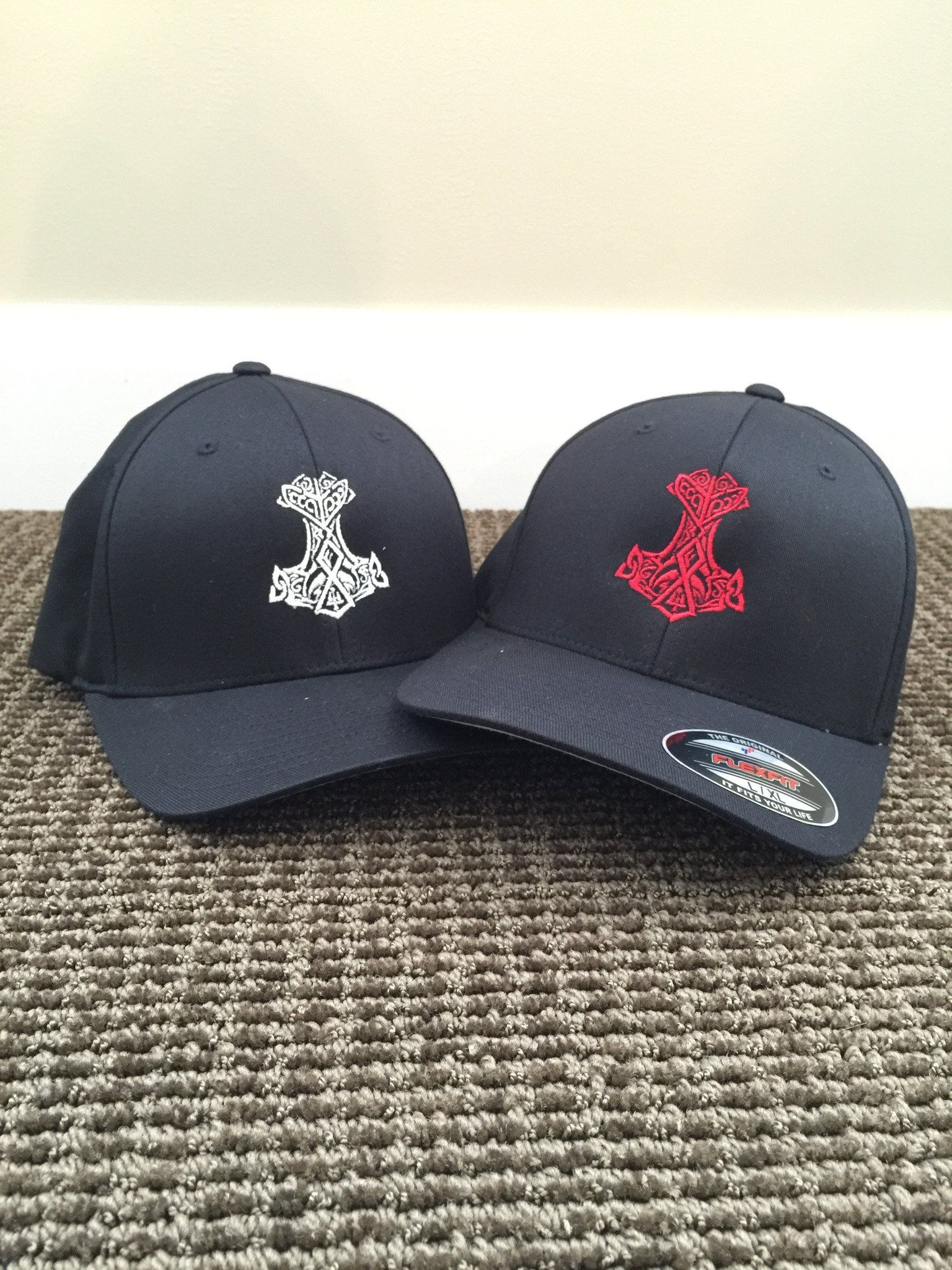 Pin By James On For Me Flex Fit Hats Thors Hammer Hats