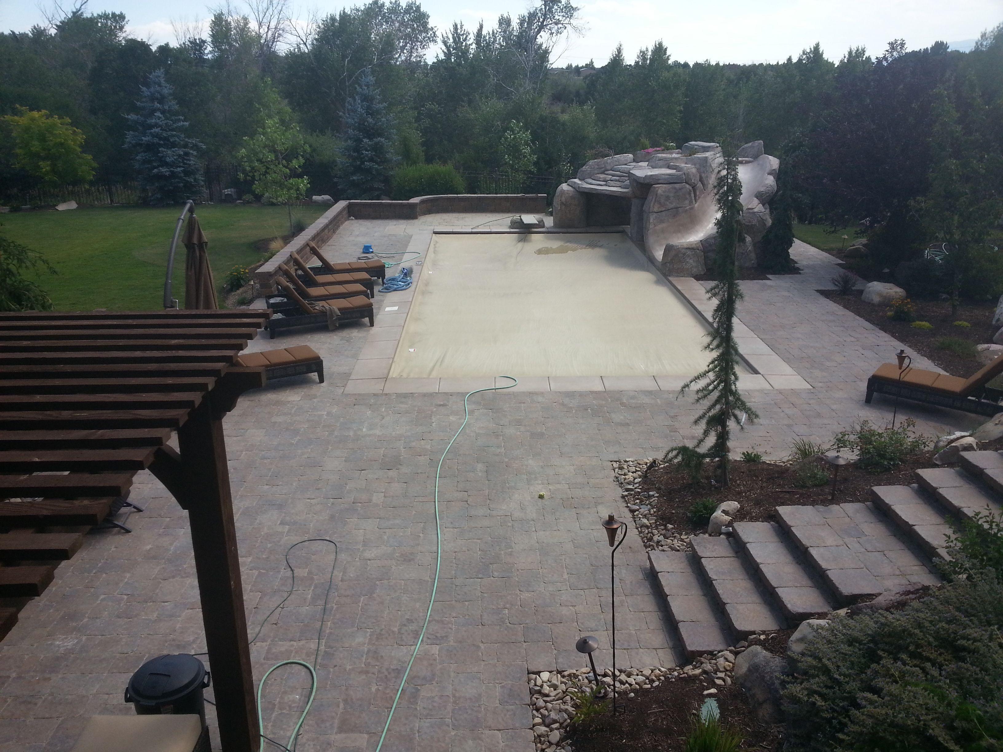 pavers around pools, paver patios, paver walkways, paver walls