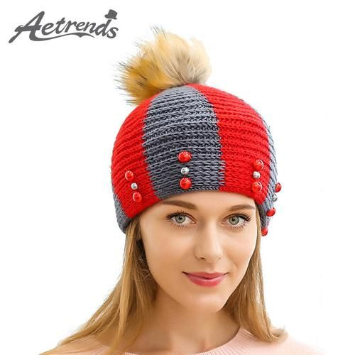 bbc426911d4 amazon 8f123 3d1dd aetrends 2017 new designer beanies winter hat with ears  warm beanie girl hats