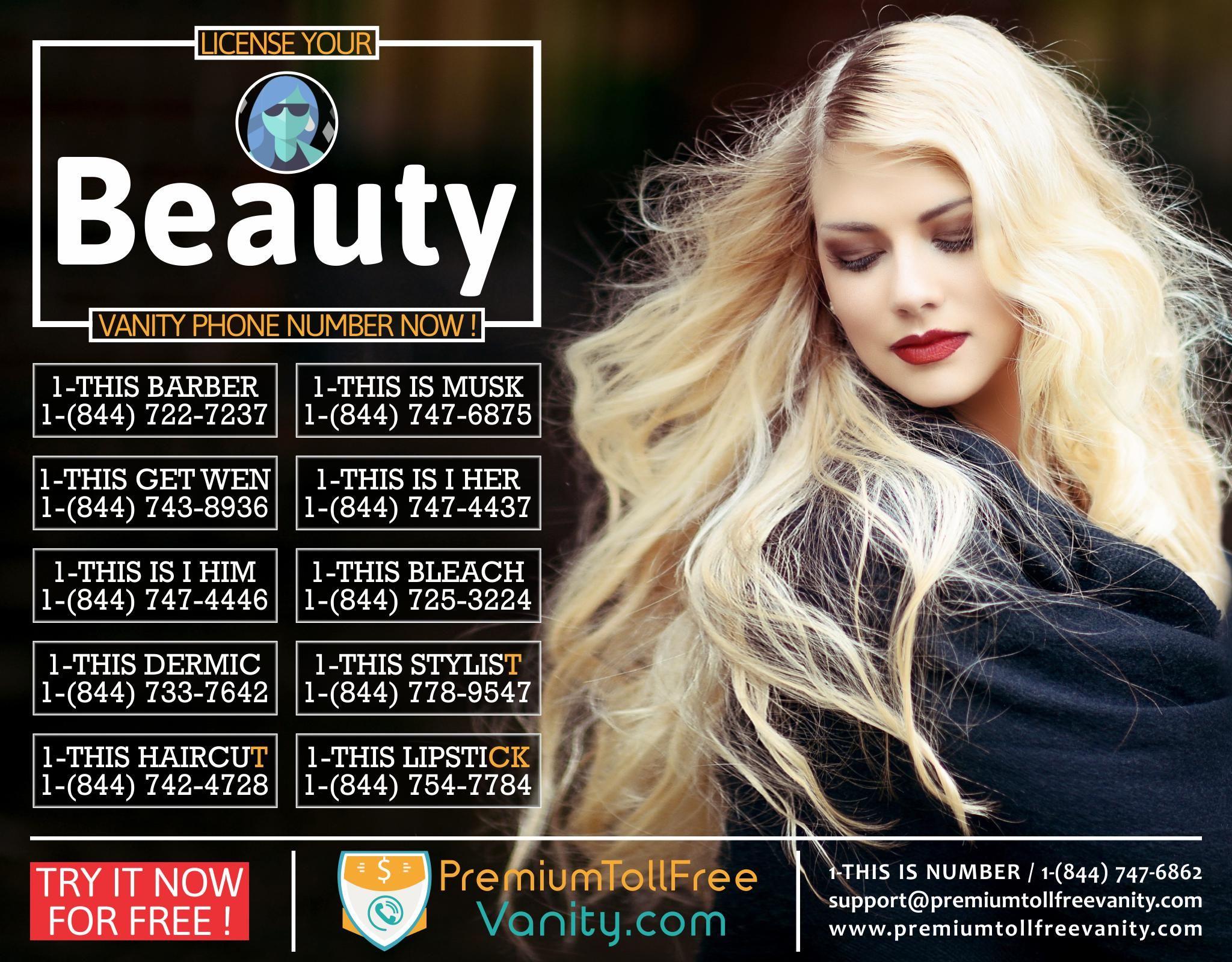 Pin By Premium Toll Free Vanity Numbers On Vanity Numbers