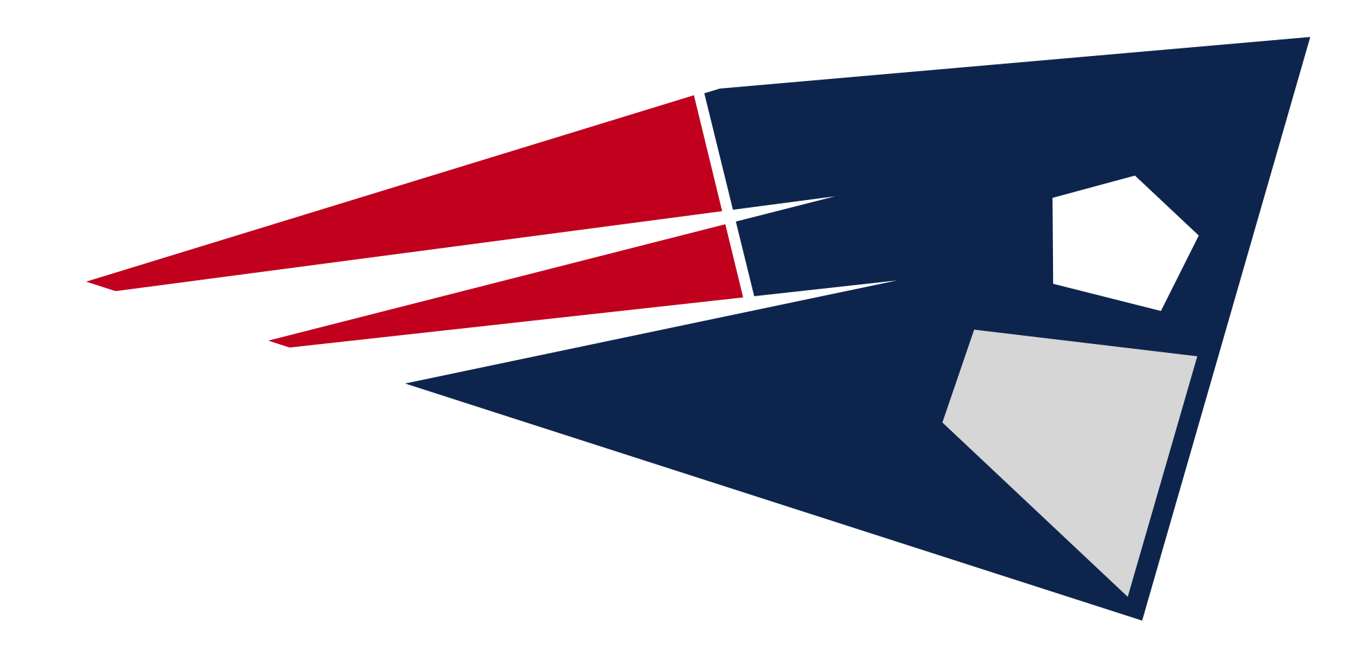 New England Patriots NFL football team abstract futurist ...