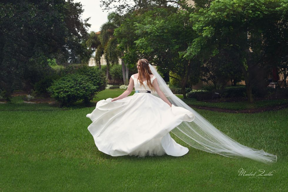 Romantic wedding dress inspiration. Photo by Maibel Ziello South ...