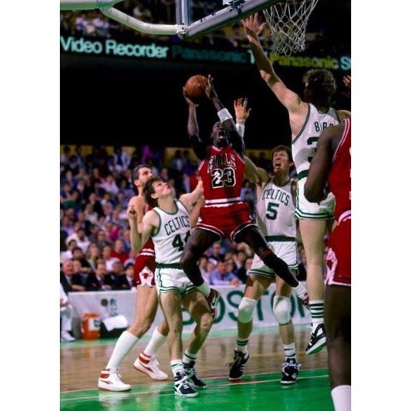 30 Years Ago Today Michael Jordan set an NBA Playoff Record Scoring 63 points in a Double OT Thriller Against the Boston Celtics. #repre23nt