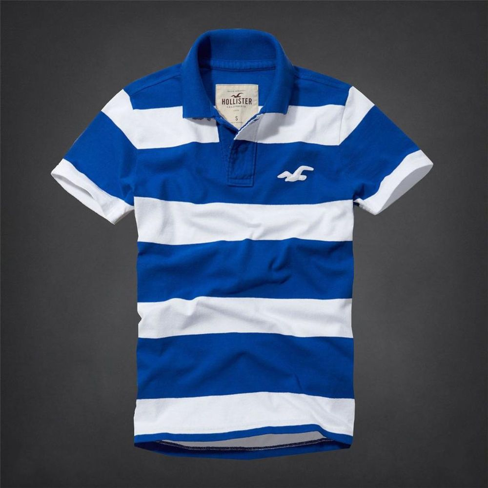 Hollister by Abercrombie and Fitch!New Short Sleeve Mens Blue ...