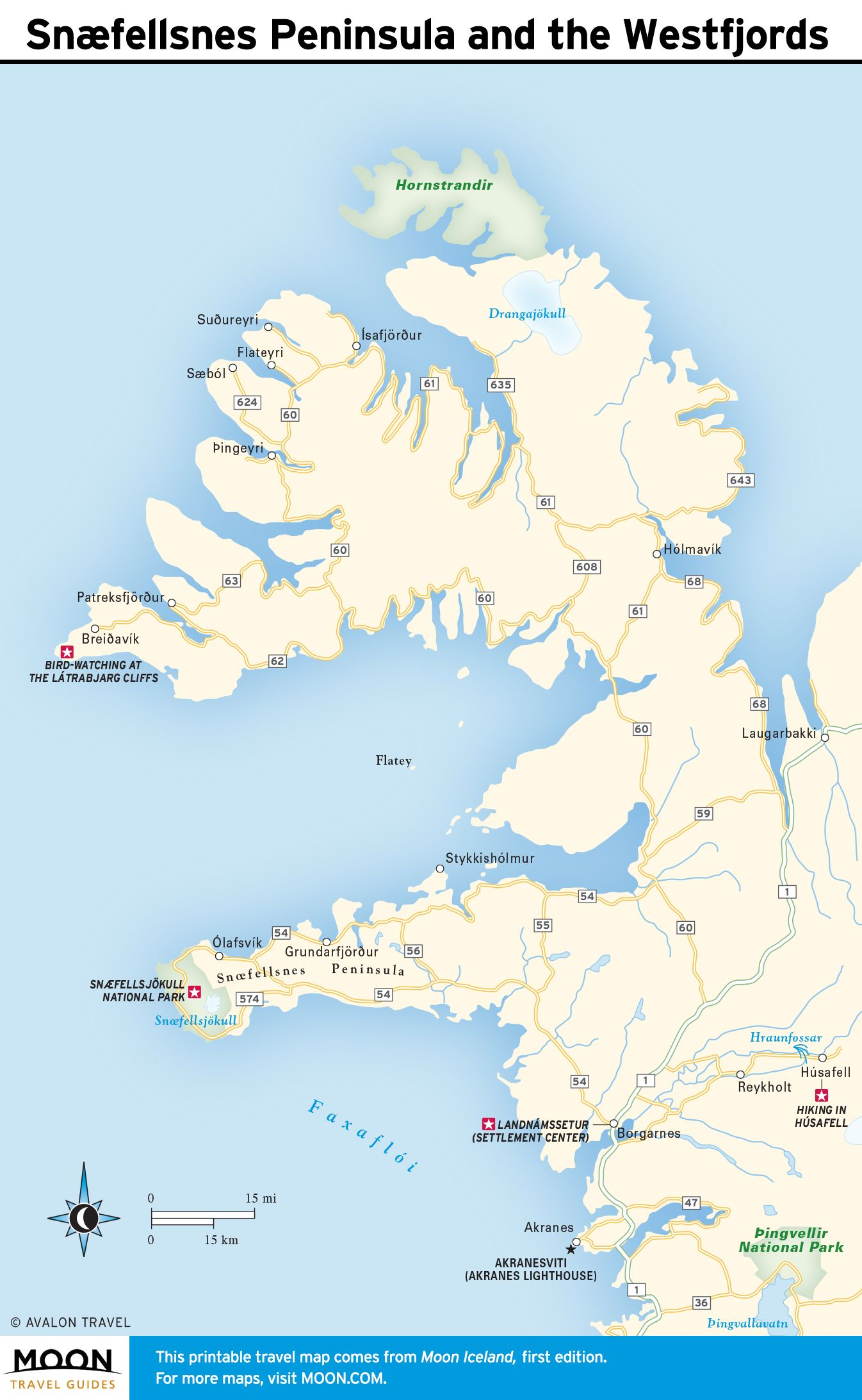 It is a photo of Iceland Map Printable in 7 day