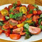 Real Healthy Tomato Salad