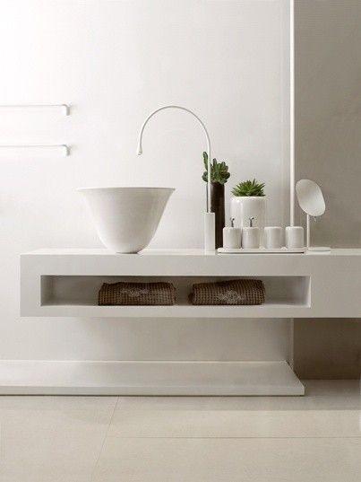 Bagno Moderno Minimal Bianco