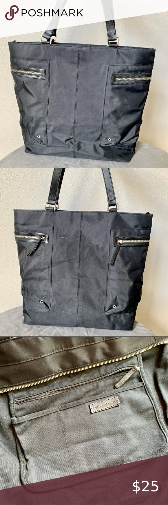 Banana Republic Large Black Tote Bag