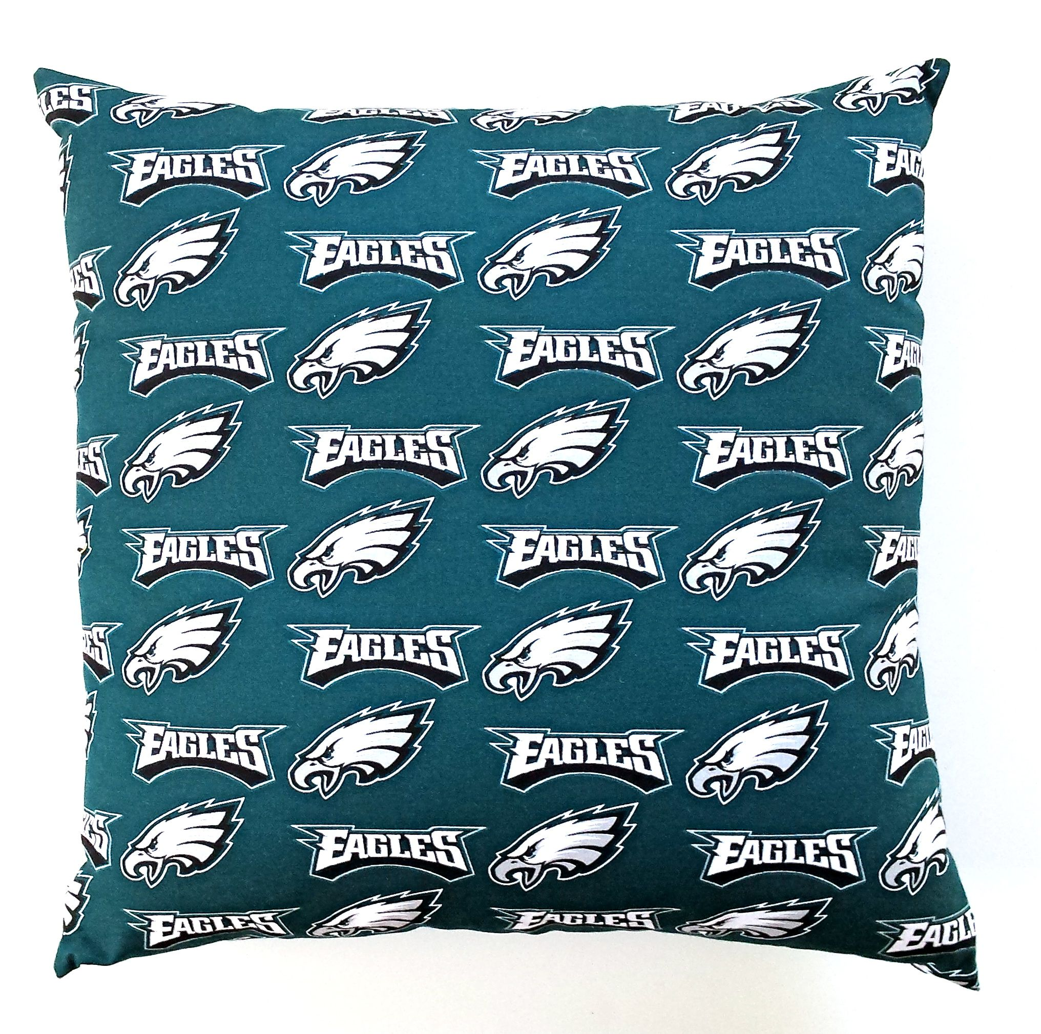 Philadelphia eagles pillow cover with a zipper for easy cleaning