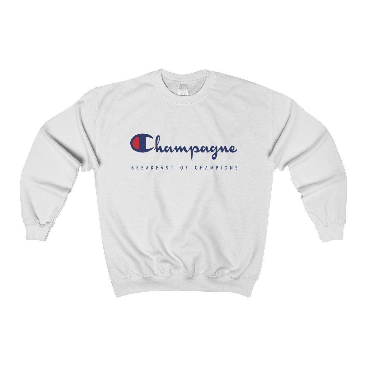 Champagne Sweatshirt Sweatshirts Crew Neck Sweatshirt Feminist Sweatshirt [ 1200 x 1200 Pixel ]