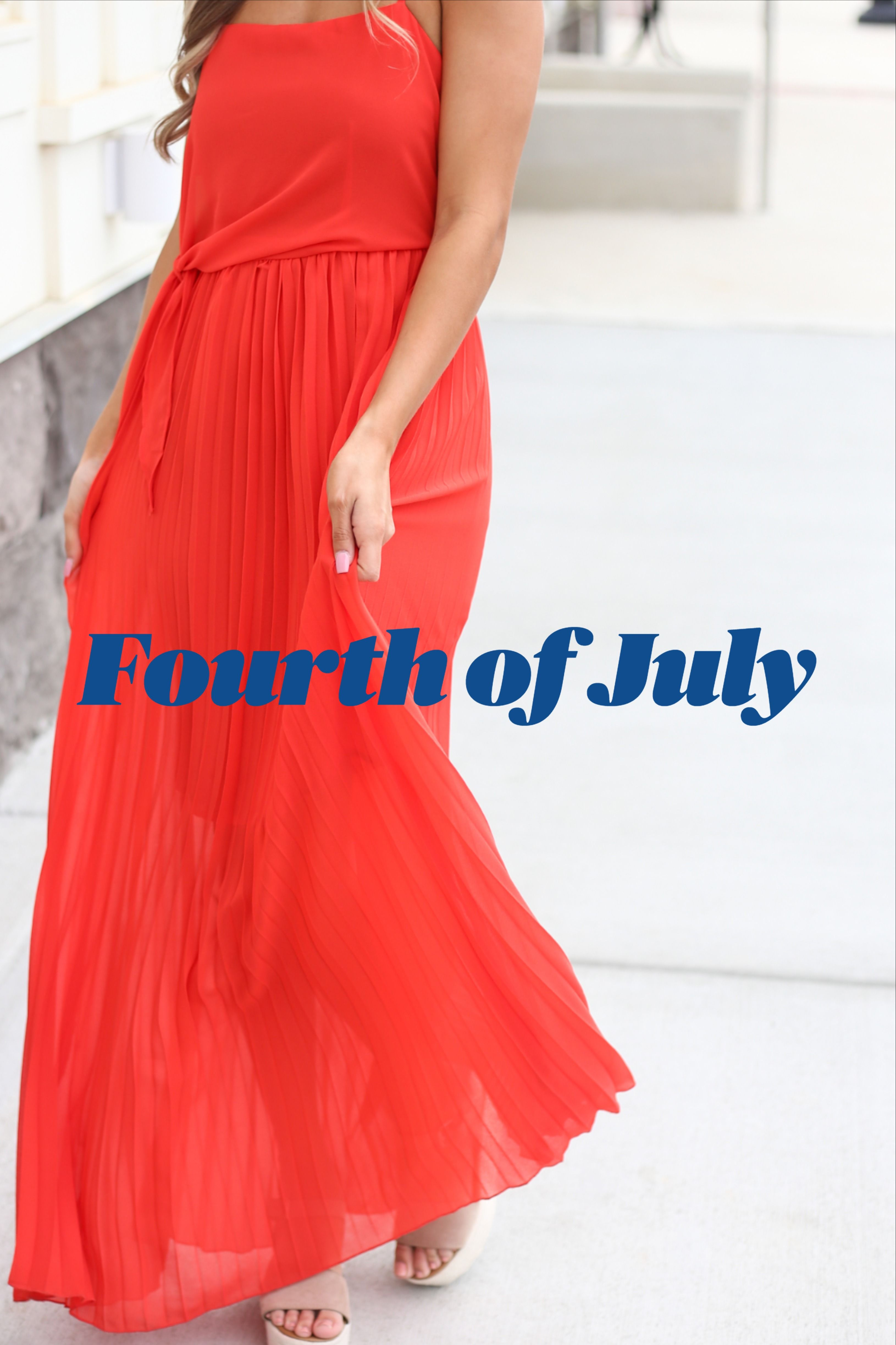 4th Of July Red Maxi Dress Red Dress Maxi Maxi Dress Casual Outfit Inspiration [ 4889 x 3260 Pixel ]