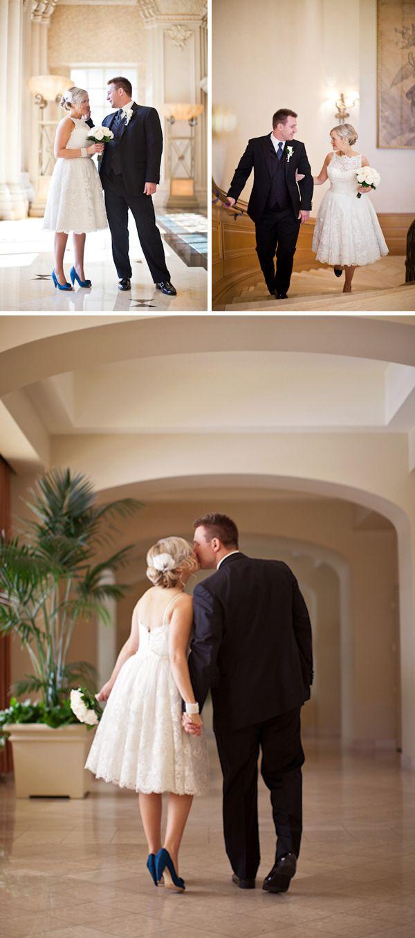Real Wedding Hope Wedding Vow Renewal Dress Wedding Vows