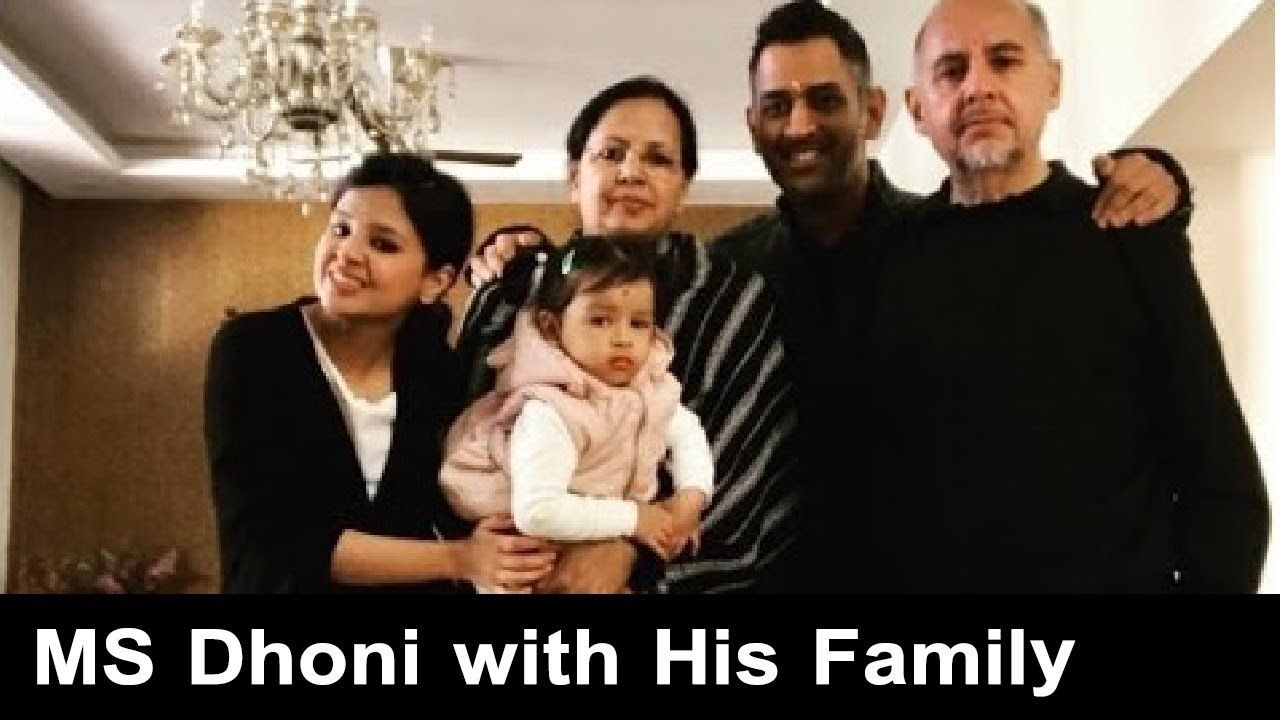 Mahendra Singh Dhoni Family Photos With Wife Daughter Parents And Othe Family Photos Ms Dhoni Wife Family