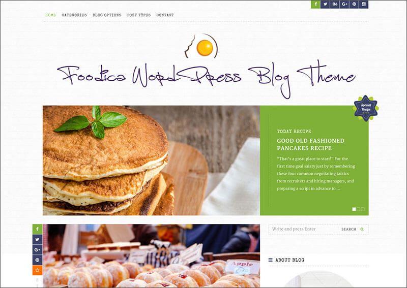 Template Theme Blog Resep Masakan Dan Kuliner Free Dan Premium Resep Masakan Masakan Makanan